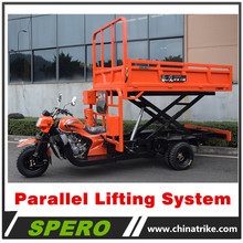 2018 Hydraulic Parallel Lifting System Dumper Tricycle