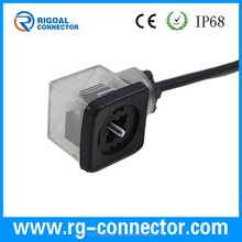 IP65 DIN43650 A B C type solenoid valve, electric plug food grade magnetic valve cable
