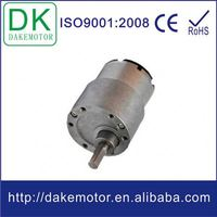 37mm high torque low rpm 28mm spur gearbox
