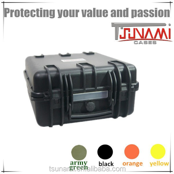 China waterproof cases hard storage boxes plastic instrument protection box for gopro hero 4