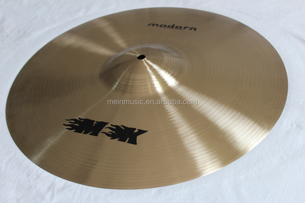 "High quality with good price 18"" medium crash cymbal for drum set from china manufacturer MK"