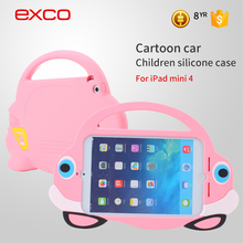 EXCO New Robot Full Protected Hard PC+Silicon combo Case for IPAD Mini with kickstand