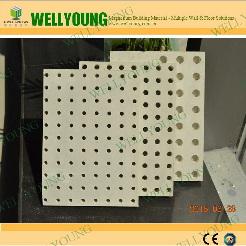 Partition Drywall Plasterboard Cheap Prices Perforated Acoustic Gypsum Board