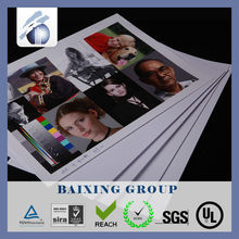 PVC Digital printing sheet card material for indigo printer