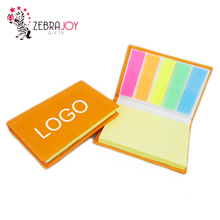 School office useful different size and shape logo custom die cut notes sticky note hard cover memo pad
