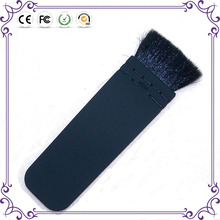 High quality goat hair private label powder makeup brushes face cleaning brush