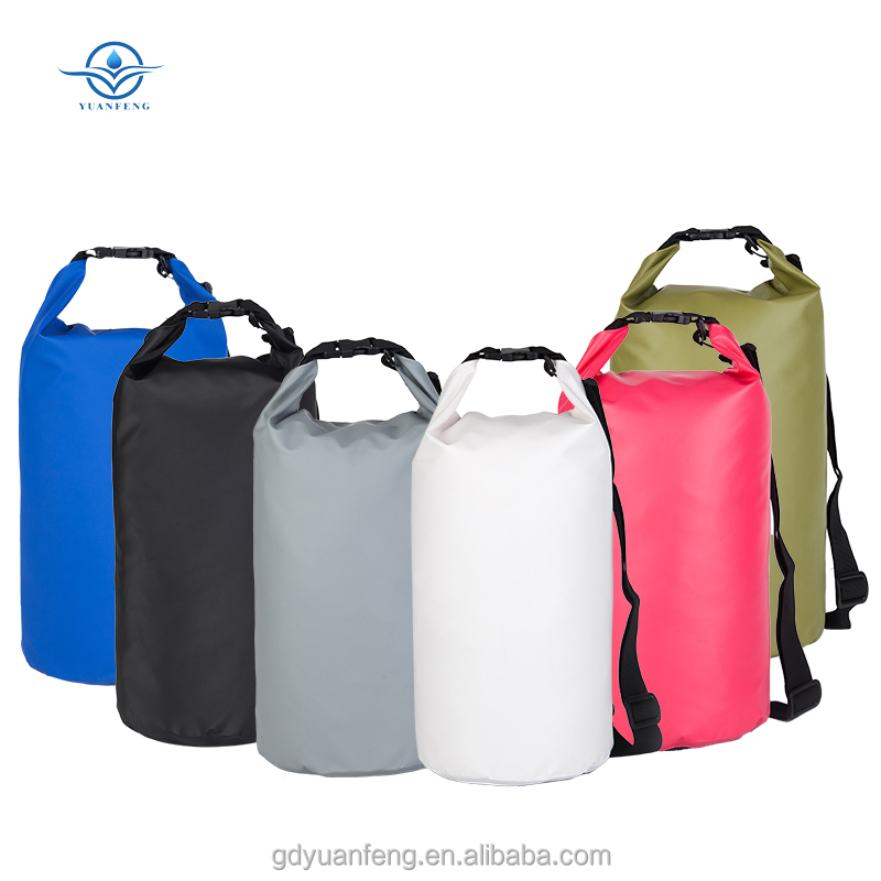 hot sale 10L pvc dry bags waterproof bag for outdoor camping