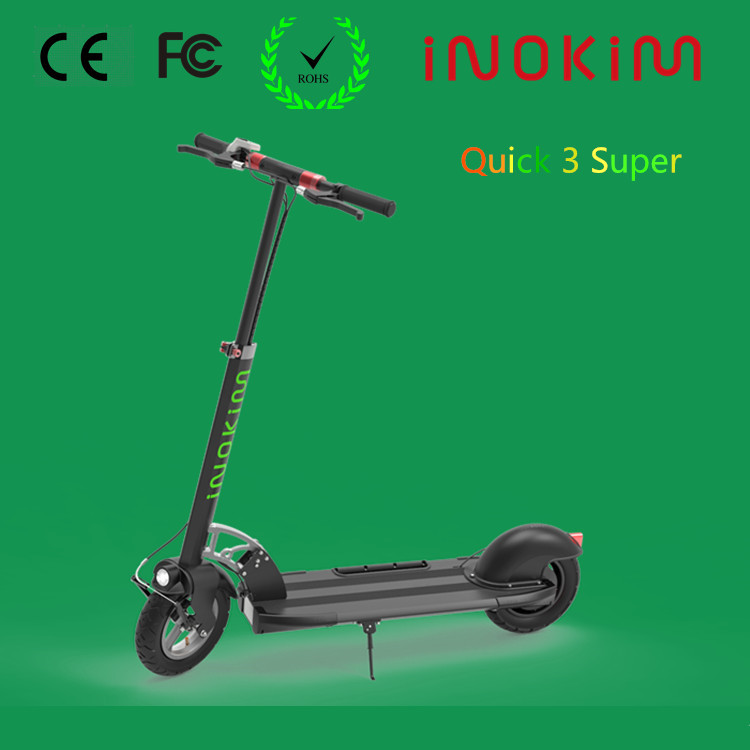 INOKIM 10in tire Strong geared motor powerful adult electric motorcycle with certificates