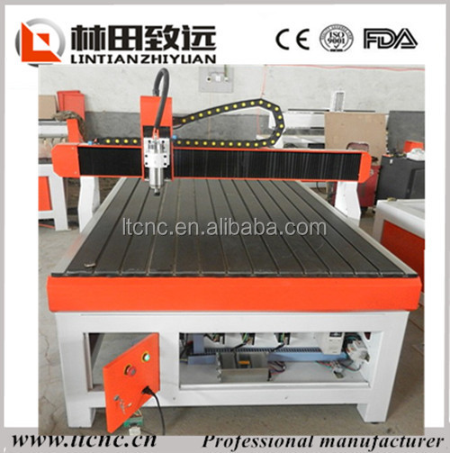 China best price mini cnc router hight z axis for metal wood etc.