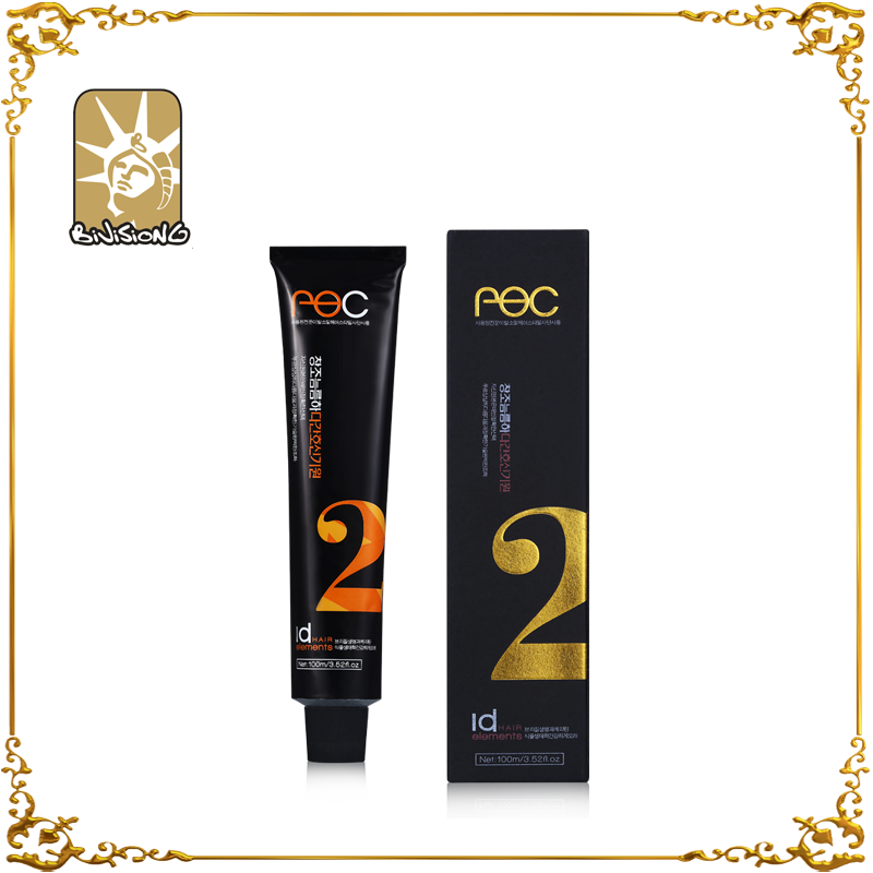 Free sample permanent professional 100ml no ammonia no peroxide hair color