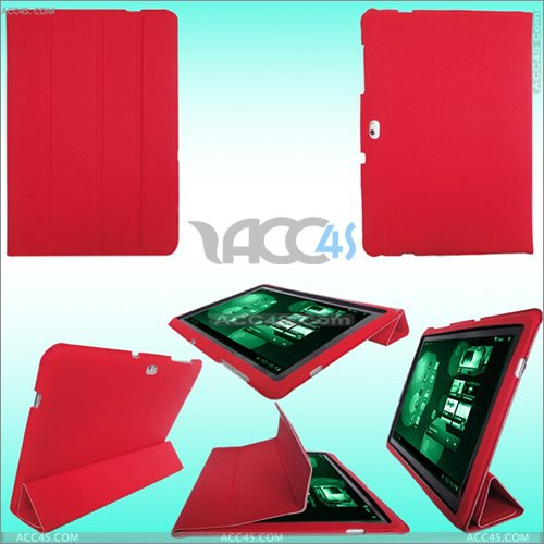 3 Folding Thin Leather Case for Samsung P7510 SAMP7510CASE004