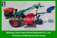 New Chinese machine of 15HP small mini walking tractor hand tractor for sale
