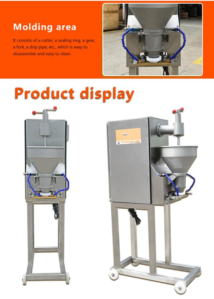 500pcs/Min Automatic Industrial  Meat Ball Forming Rolling  Electric Making Meatball Production Maker Machine