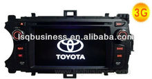 Radio fm for Toyota Yaris NEW with Bluetooth RDS TV GPS MP4 MP3 player,ST-A146