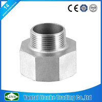 150lbs stainless steel male female hex threaded reducer bushing