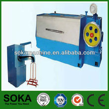staple wire making machine with annealing