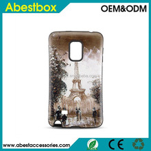 For Samsung Galaxy Note Edge Designed Case, 3D Artwork Case Eiffel Tower Designed iFace Mall Case for Samsung Galaxy Note Edge