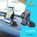 Universal car mount holder dashboard and window mount