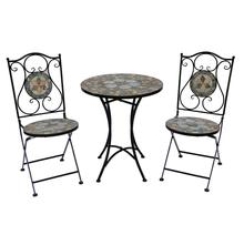 BSCI audit Antique white wrought iron patio furniture