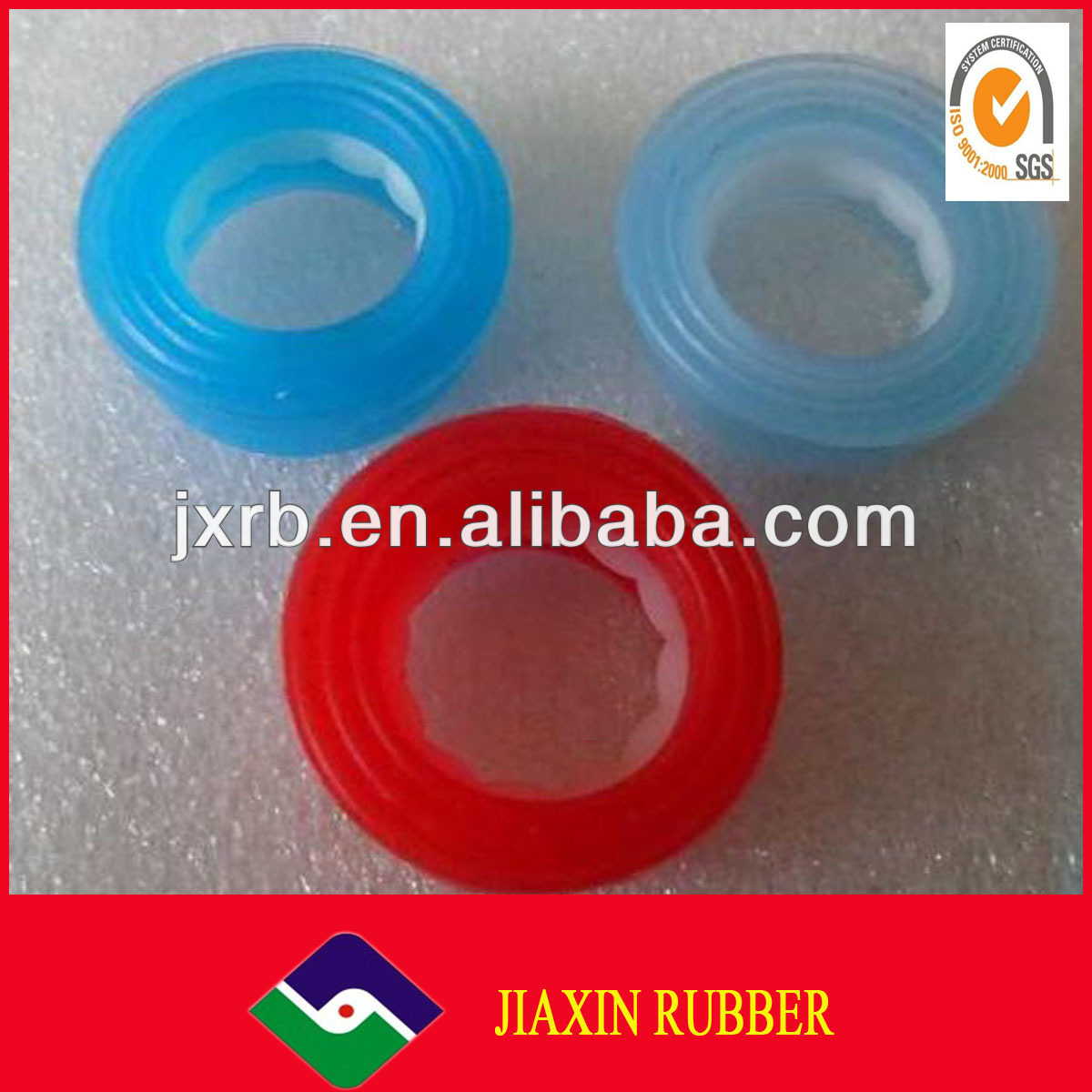 Pipe Silicone Rubber Gasket /rubber gasket for bottle stopper