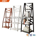 High-quality Cheap 4-TIERS Wall Ladder shelf / bookcase