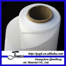 Blank canvas paper roll for solvent print