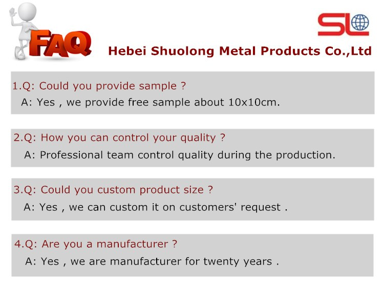 Hebei Shuolong ISO Manufactory XY-6212 steel wire mesh / Stainless steel architectural decorative wire mesh
