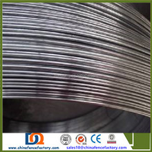 Hot galvanized oval steel wire for Brazil Market