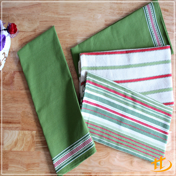 High Quality Stylish Colorful Cotton Hot sale color fade away tea towel