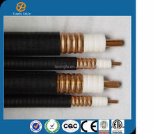 Hangzhou Linan TOP3 cable factory High quality1/4''S 3/8''S 1/2''S 7/8'' 1-1/4'' 1-5/8'' rf coaxial cable