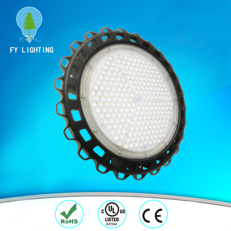 ul TUV ce rohs certification 120w 150 w ufo led high bay lighting lamp for warehouse lighting