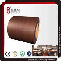 Porcelain White pvc coated metal sheet for composite rockwool panel