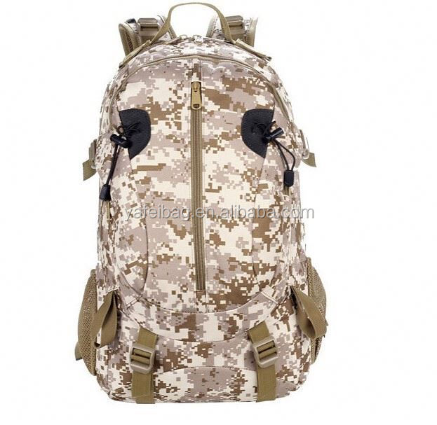 New Fashionable muti-functional outdoor water-proof Military Backpack/army tactical shoulder camouflage backpack