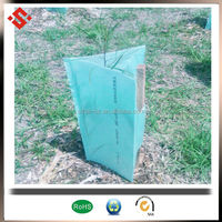 2mm 3mm Corflute Plastic planting tube for seeding tree protect