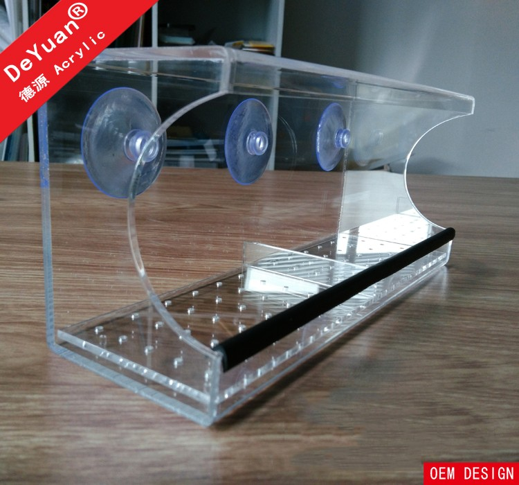 Plastic Bird Feeder Clear / Window Bird Feeder
