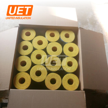 High quality glass wool insulation Waterproof glass wool pipe with foil/without foil