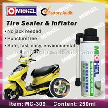 Tubeless 250ml Tire Sealer and Inflator with color box,Tyre Sealer and Inflator