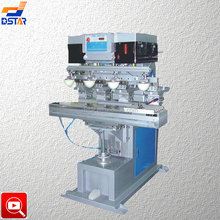DX-L4S 4 color big size plastic panel tampography printing machine with shuttle for sale