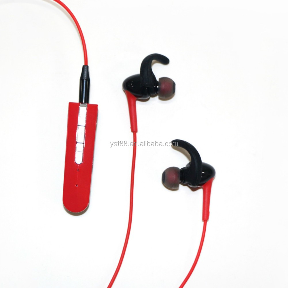 2017 new style sport earphone bass sound earphone AMW-10 B wireless 4.2 headset with hands free call funciton