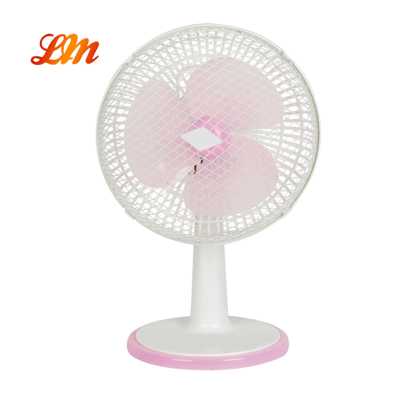 7 Inch Small Portable Desk/Table Fan with Straight Grill