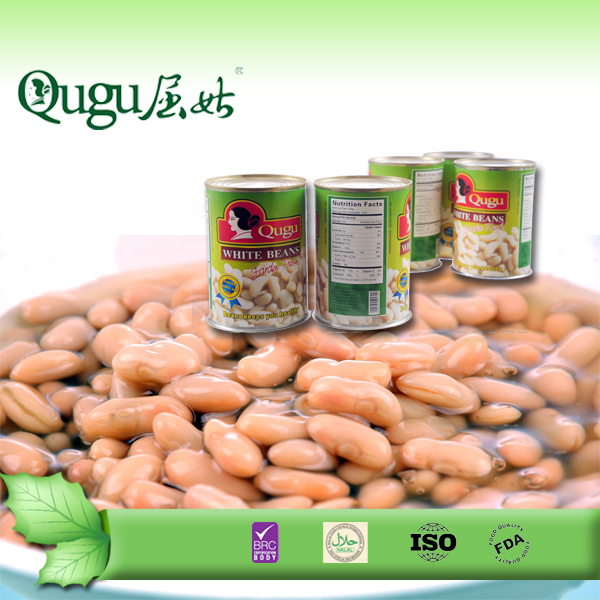 Normal Lids Canned Food White Kidney Beans in tins