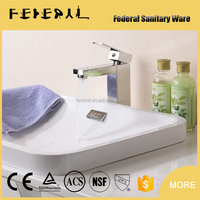 Fashion Style Bathroom Basin Faucet for Elegant Polished Brass Body Chrome Bathroom Faucet