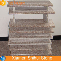 Peach Red G687 Granite Stair Trends