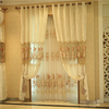 Pastoral curtains finished bedroom modern living room shade curtains