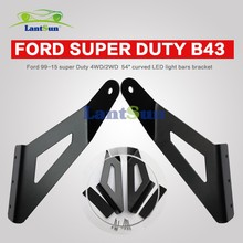 "new design 54"" curved LED light bar brackets fit super Duty 99-15 super Duty 4WD/2WD"