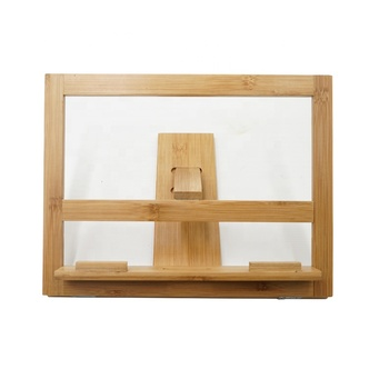 Bamboo Reading Rest Cookbook Stand Cook Recipe Holder