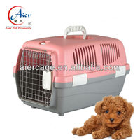 pet supply plastic dog transport cage