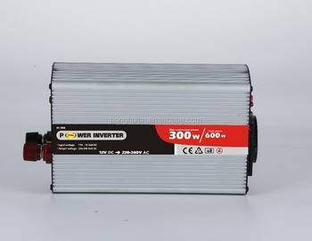 300w surge 600w dc ac modified sine wave inverter with rohs/car inverter/24vdc 220vac power inverter