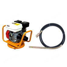 5.5HP Portable Gasoline Concrete Vibrator GX160 Engine and cement mortar vibrate bar