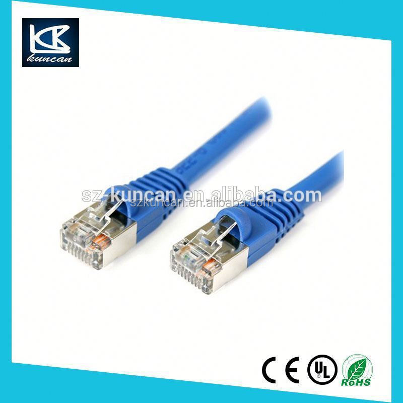 Bare Copper SFTP Cat7 Cat6a Patch Cord Cable/RJ45 Patch